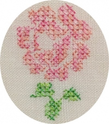 One rose x stitch