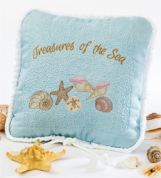 Treasures of the Sea Pillow