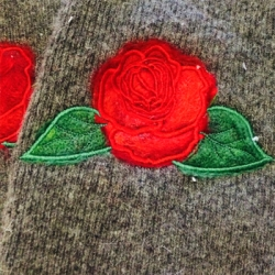 Felted Rose